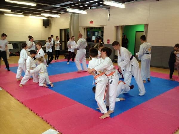 Maidenhead ju jitsu class