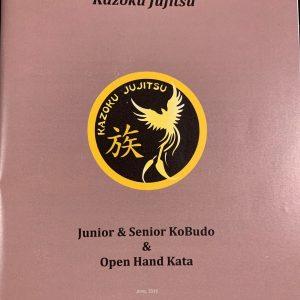 Kobudo & Open Hand Kata Syllabus Booklet