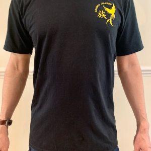 Black T-shirt - front